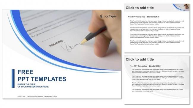 Presentaciones plantilla powerpointFirmar un documento