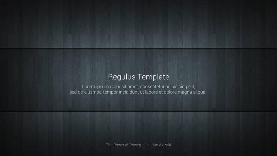 descargar plantilla powerpoint Regulus