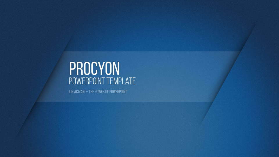 descargar plantilla powerpoint Procyon