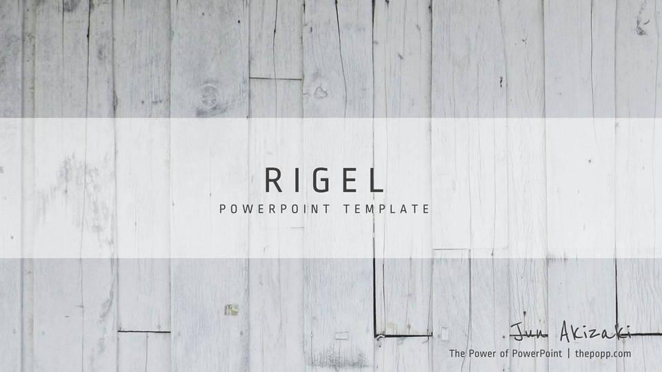 descargar plantilla powerpoint Rigel