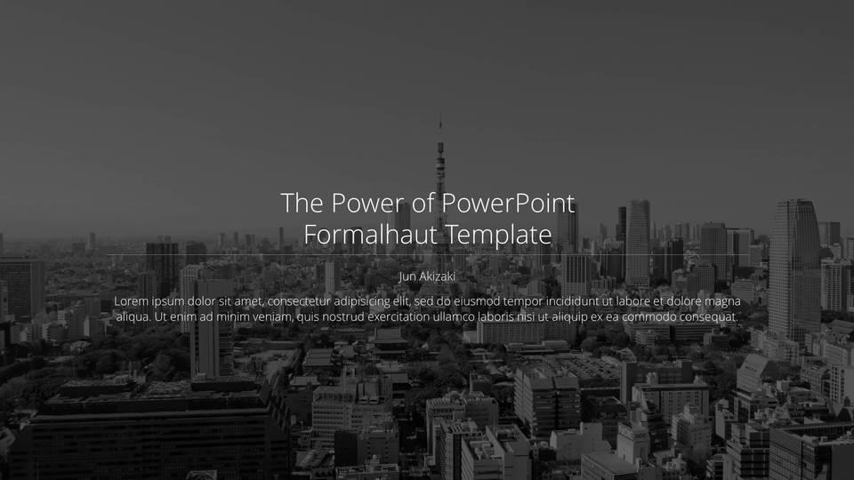 descargar plantilla powerpoint Fomalhaut