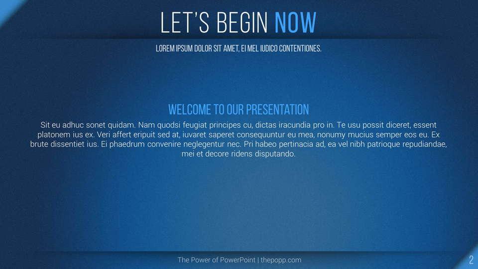 slides plantilla powerpoint Procyon