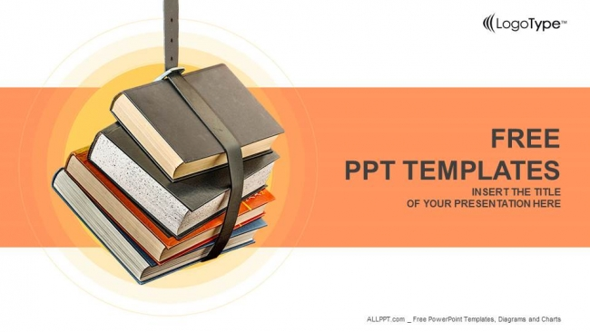 Powerpoint para presentacionesApilado de libros