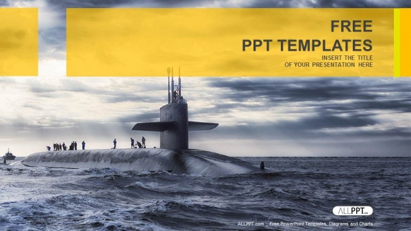 Presentaciones plantilla powerpointVela submarina