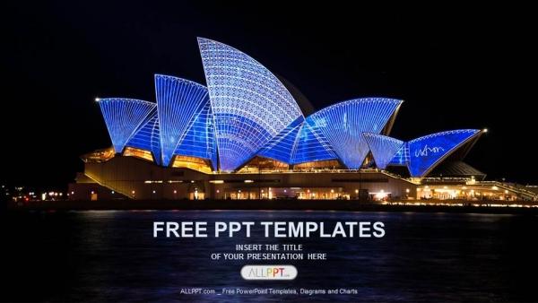 Descargar Presentaciones plantillas powerpointÓpera de Sydney