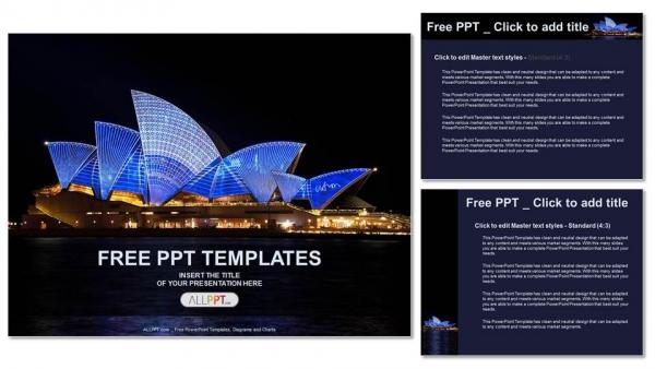 Powerpoint para presentacionesÓpera de Sydney