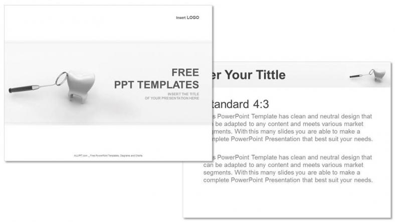 Powerpoint para presentacionesDiente y espejo dental