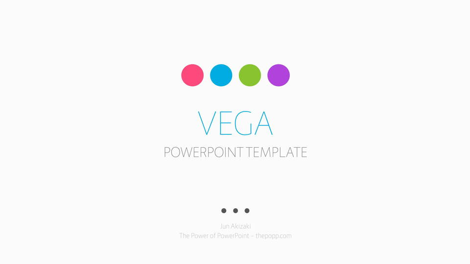 descargar plantilla powerpoint Vega