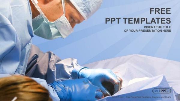 Powerpoint para presentacionesCirugía veterinaria en quirófano
