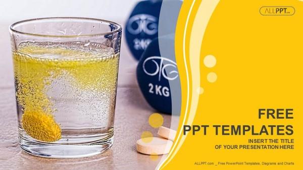 Descargar Presentaciones plantillas powerpointPíldoras de vitaminas solubles en agua