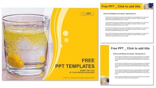 Powerpoint para presentacionesPíldoras de vitaminas solubles en agua
