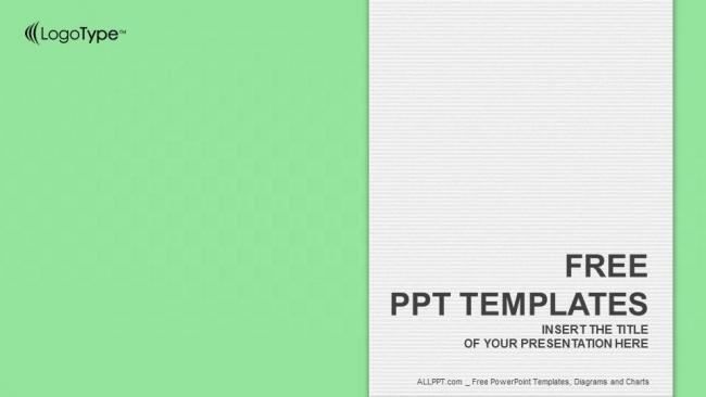 Diapositivas plantilla powerpointLibro Blanco Simple s