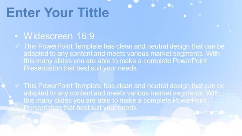 Diapositivas plantilla powerpointEsferas blancas