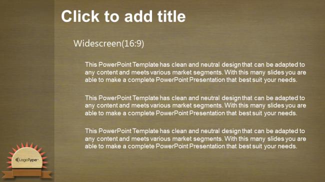Descargar Presentaciones plantillas powerpointTextura de la madera