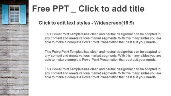 Descargar Presentaciones plantillas powerpointPersianas de madera
