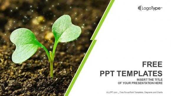 Descargar Presentaciones plantillas powerpointBrotación de plantas jóvenes