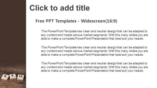 Powerpoint para presentacionesPosicionamiento en buscadores SEO