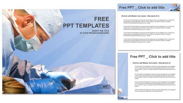 Descargar Presentaciones plantillas powerpointCirugía veterinaria en quirófano